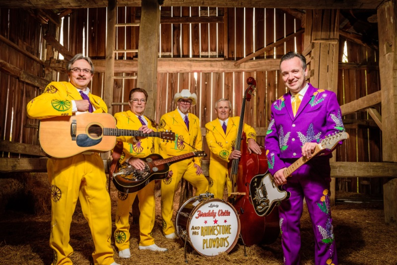 Freddy Vette and His Rhinestone Plowboys to Perform in Flinton 2018!