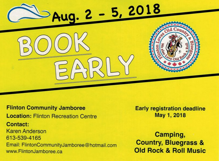 2018 Flinton Jamboree – Full Steam Ahead!