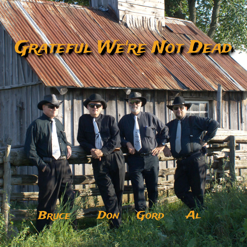 """Grateful We're Not Dead"" to Perform Saturday, August 3rd in Flinton!"